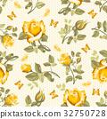 rose, seamless, pattern 32750728