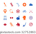 sport, icon, set 32752863