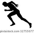 run athlete runners 32755077