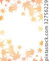 단풍, 가을, 잎 32756229