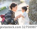 Yukata women and children 32756987