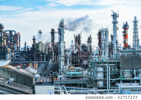 """Kanagawa Prefecture"" Keihin Industrial Zone 32757273"