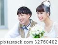 ภาพแต่งงานยิ้ม 32760402