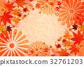 단풍, 가을, 국화 32761203