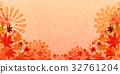 잎, 벡터, 가을 32761204