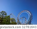 ferris wheel, amusement, amusement park 32761643