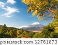 富士山 世界文化遺產 楓樹 32761873
