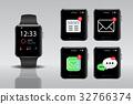 Smart electronic intelligence watch. 32766374