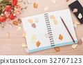 notebook, notepad, pencil 32767123