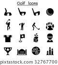 Golf icons 32767700