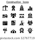 Construction industrial icons 32767719