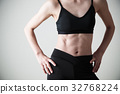 婦女飲食吸收少婦灰色後面健身 32768224