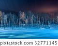 Blue Pond of Biei, Japan 32771145