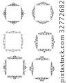 frame, design, vector 32772682