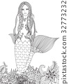 Sexy mermaid 32773232