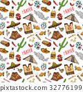 Mexico seamless pattern doodle sketch vector 32776199