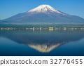 야마나카코, 야마나카 호수, 잔설 32776455