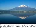 야마나카코, 야마나카 호수, 잔설 32776457