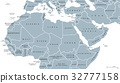 North Africa and Middle East political map 32777158