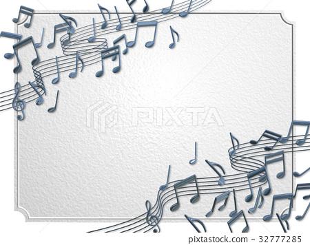 音乐 听起来 音符 32777285