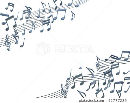 音乐 音符 笔记 32777286