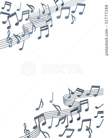 音乐 音符 笔记 32777288