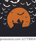 halloween background poster 32778954