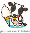 奶牛 牲口 牛 32787918