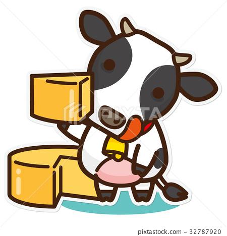 奶牛 牲口 牛 32787920