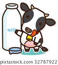 奶牛 牲口 牛 32787922