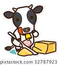 奶牛 牲口 牛 32787923