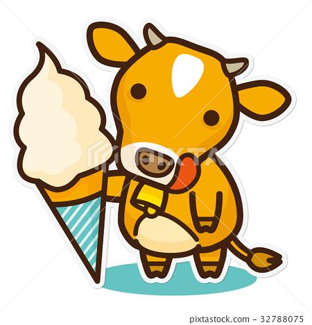 奶牛 牲口 牛 32788075