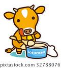 วัว,น้ำแข็ง,ผลิตภัณฑ์นม 32788076