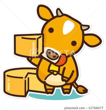 奶牛 牲口 牛 32788077