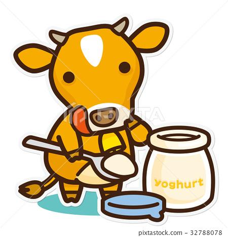 奶牛 牲口 牛 32788078