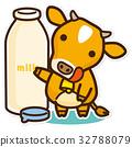 奶牛 牲口 牛 32788079