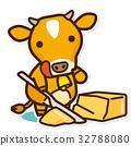 奶牛 牲口 牛 32788080