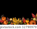 フレーム ハロウィン・秋のイメージ 32790979