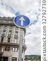 건물, 테라스, 푸른 하늘 32792730