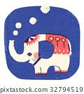 indian, elephant, elephants 32794519