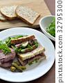 roast beef sandwich, sandwich, sandwiches 32795300