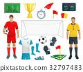 足球 运动 游戏 32797483