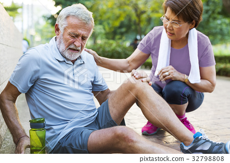 Senior Adult Exercise Pain Injury Ache 32798808