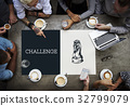 Chess Tactics Strategy Challenge Planning Horse Graphic 32799079
