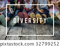 Diverse Group of Children Friendship Togetherness 32799252