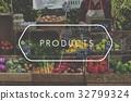 Healthy food organic fresh farmer products 32799324