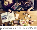 Woman Cosmetics Makeup Beauty Feminine 32799530