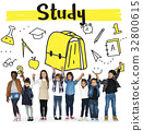 School Institute Study Learning Concept 32800615