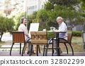 60s, man, couple 32802299