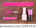 Cosmetics and accessories for manicure or pedicure 32803910